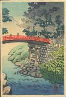 Sacred Bridge in Nikko